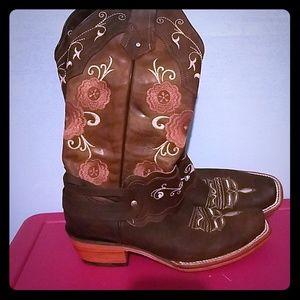 R15 Boots cowboy boots 6 1/2 Mexico 9 USA